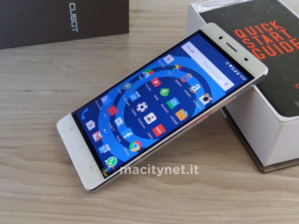 Sconto Cubot X17 smartphone da 6mm di spessore e 3 GB di RAM a 15299