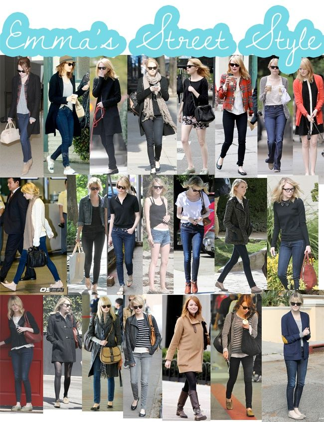 Street Style Perfection: Emma Stone