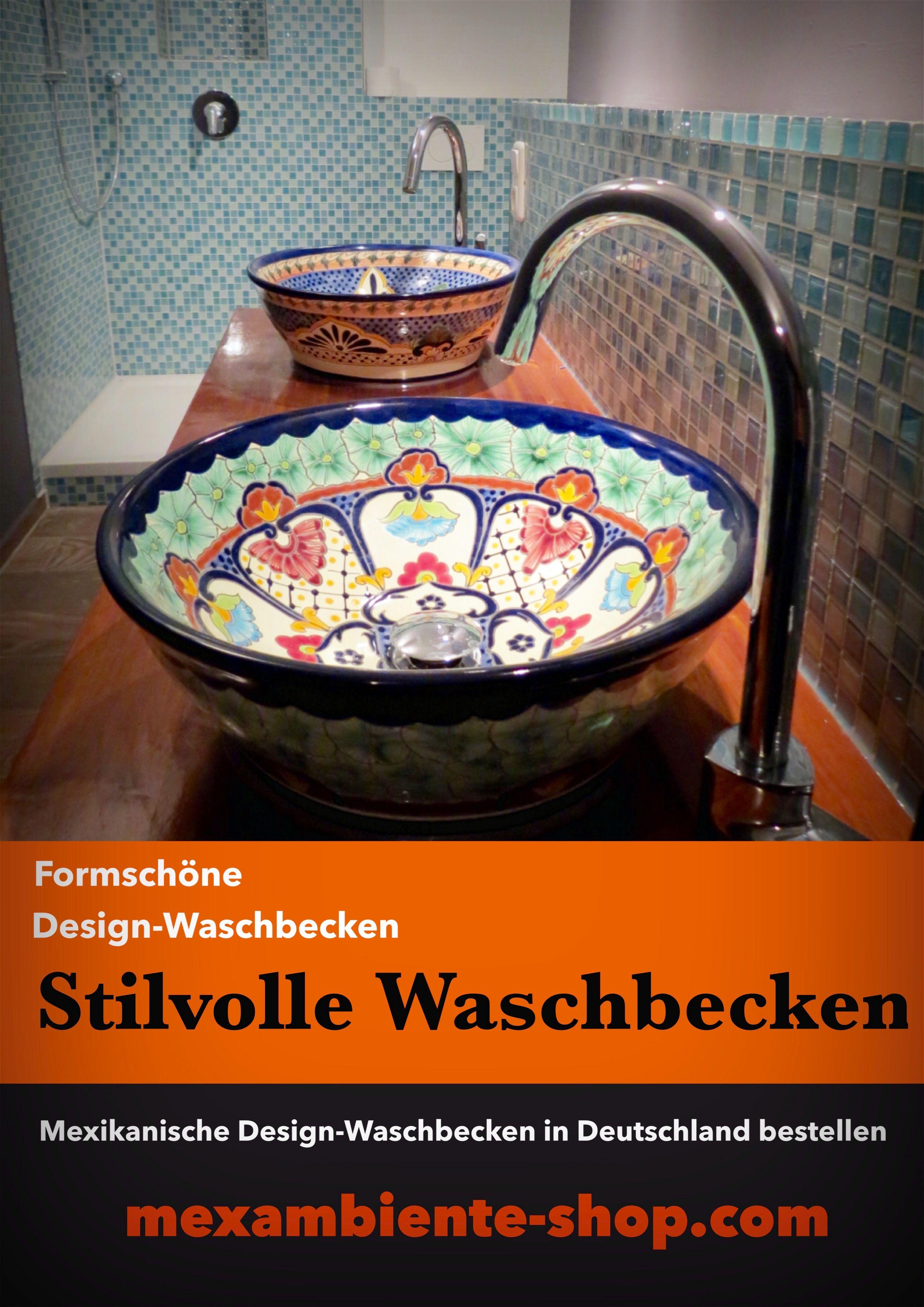 Stilvolle Waschbecken Aus Mexiko Von Mexambiente In