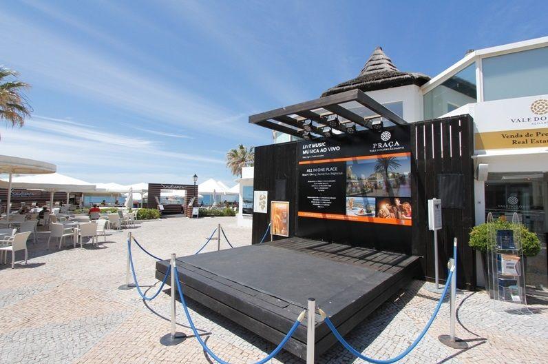 The New Look Centre Stage In The Praca At Vale Do Lobo Algarve