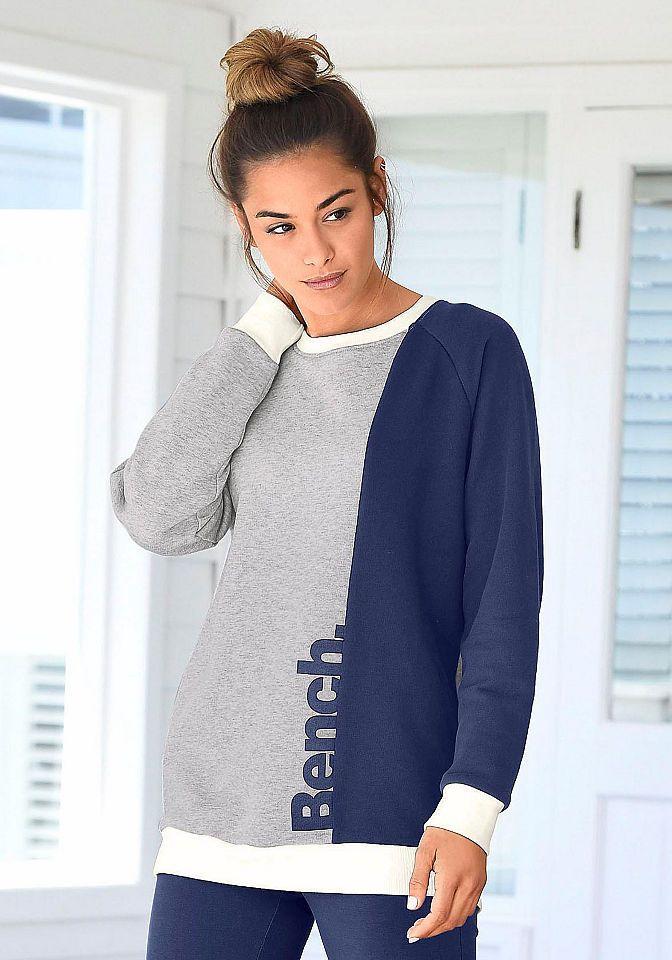 Bench. Sweater im Colour Blocking Look online bestellen