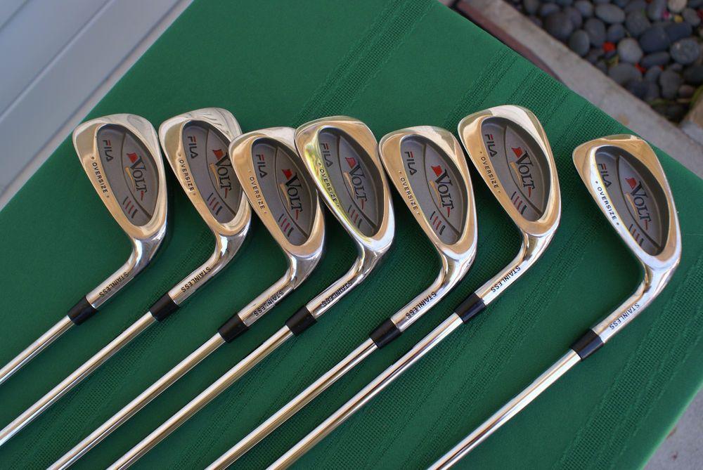 f8cb4d7b8396 Fila Woods   Irons 11 Piece Set Preowned  Fila