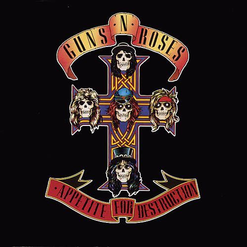 100 Best Albums Of The Eighties Guns N Roses Appetite For Destruction Rolling Stone 2 Rock Album Covers Appetite For Destruction Guns N Roses