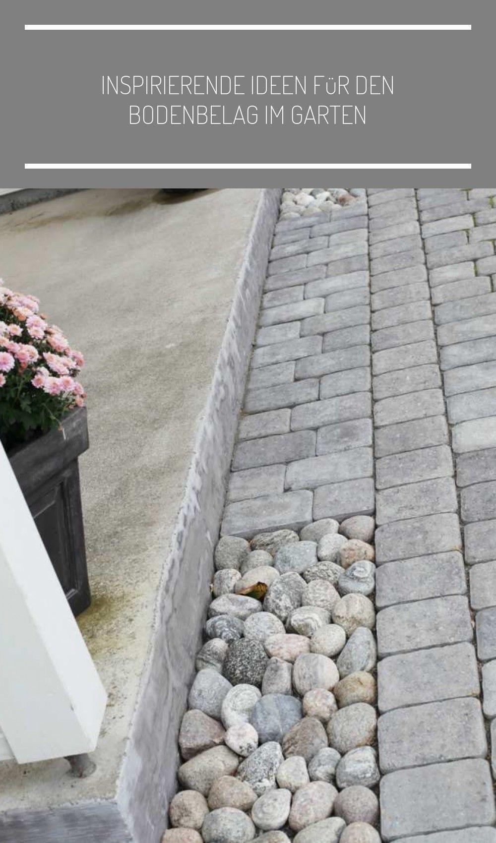 Pflastersteine Und Flusssteine Kombinieren Eingangsbereich Haus Beleuchtung Ins In 2020 Flusssteine Pflastersteine Beleuchtung