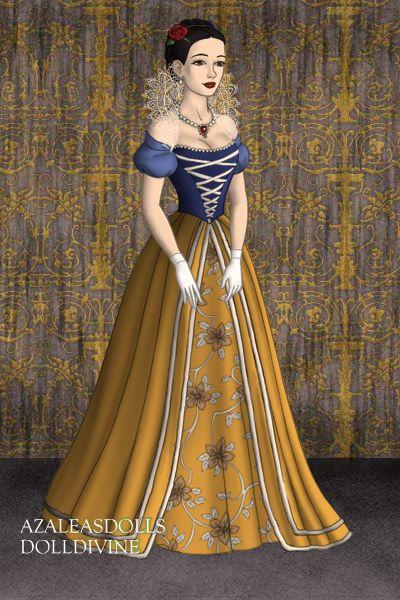 Historical Snow White Doll Divine Dress Up Games