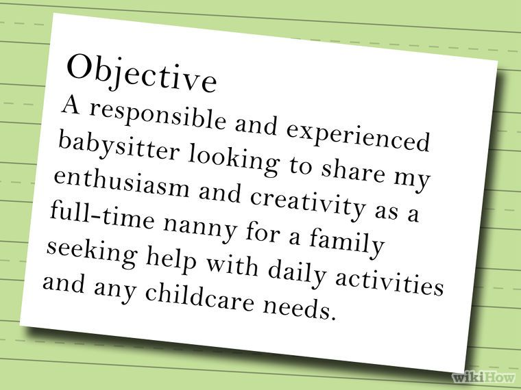 Pin on Work resume