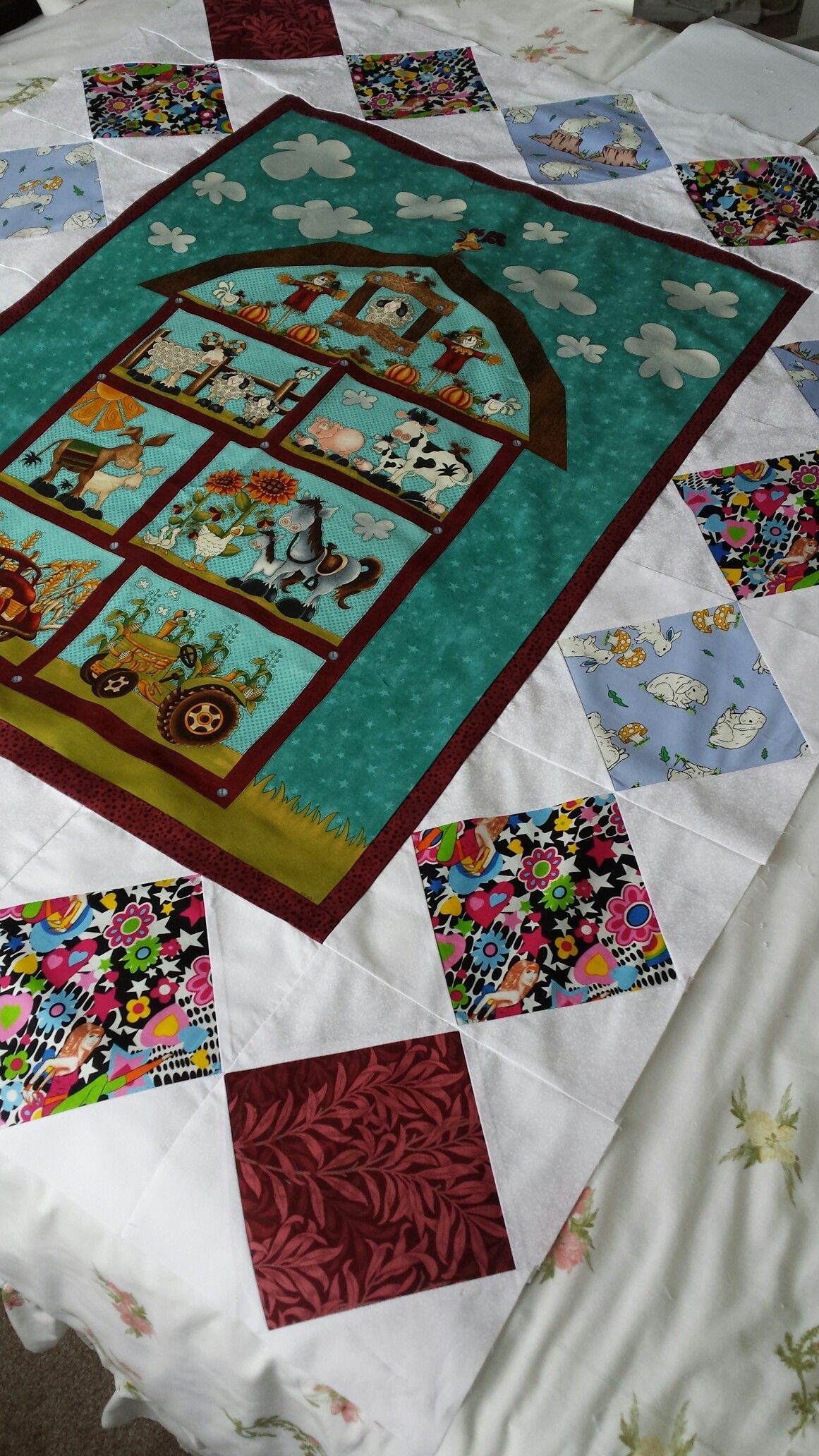 Pin On Panel Quilting