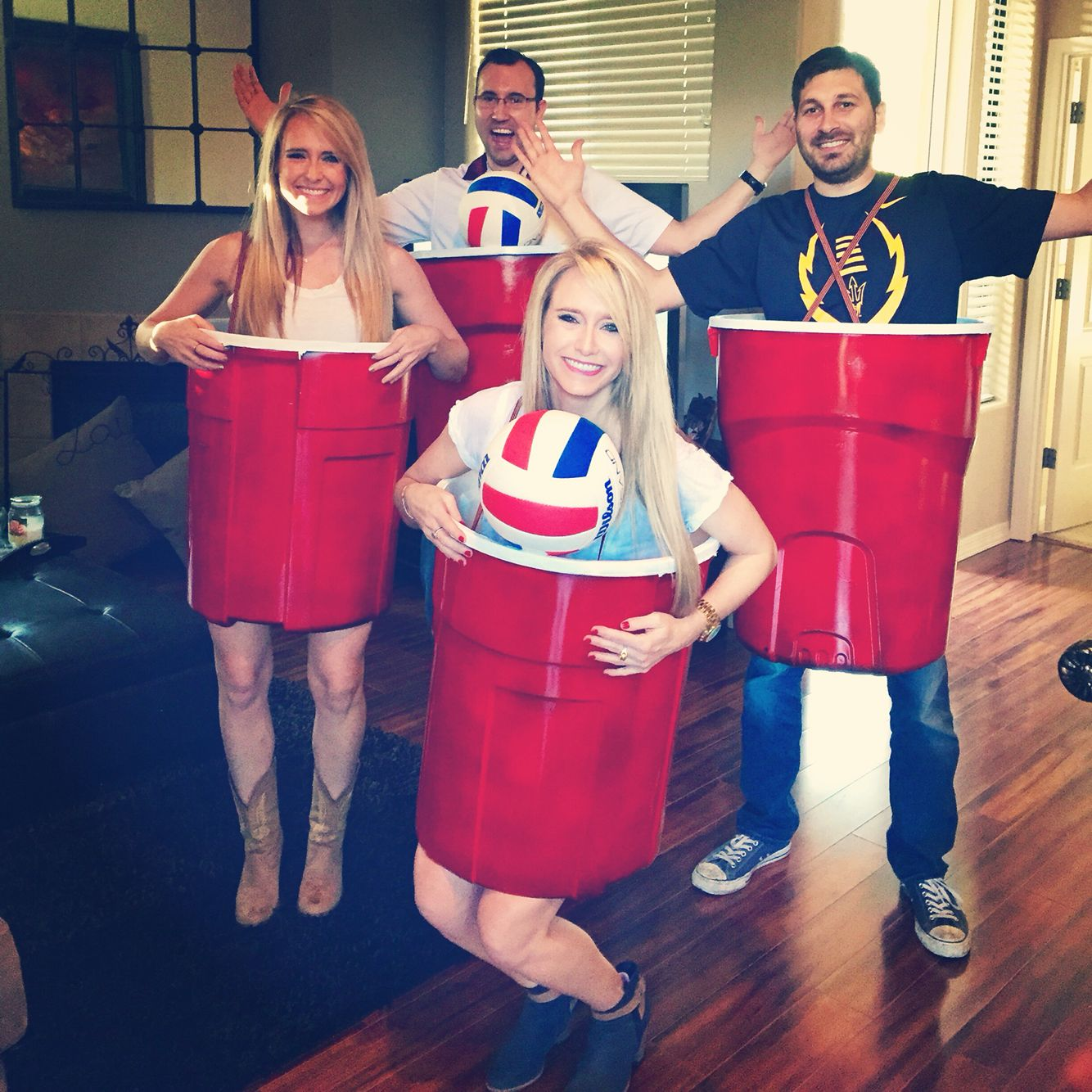 Halloween! Human Beer Pong this year!