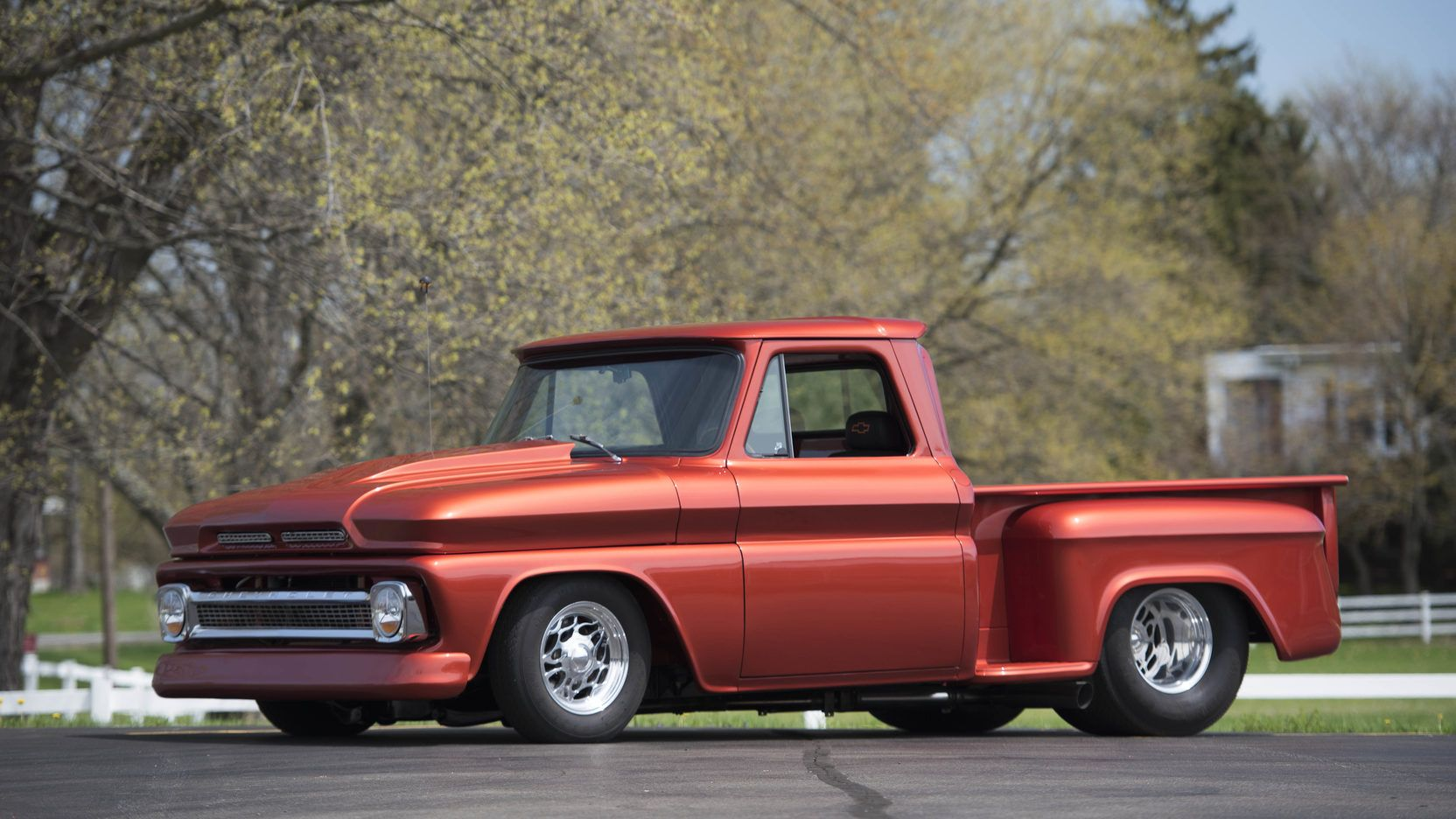 1966 Chevrolet C10 Pickup presented as Lot S99 at