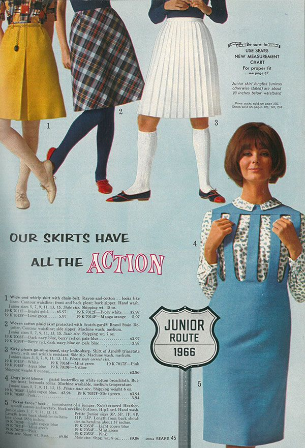 a1f698b7238 MeTV Network | What women were wearing in the summer of 1966 | Old ...