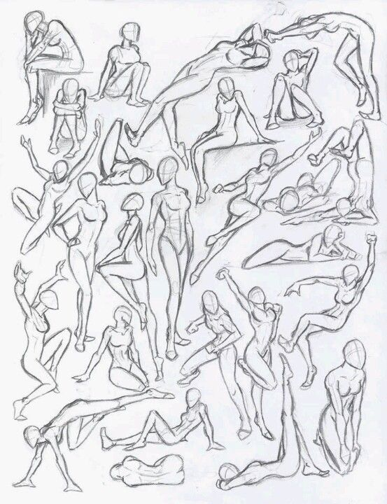 Body Positions Figure Drawing Drawing People Drawing Studies