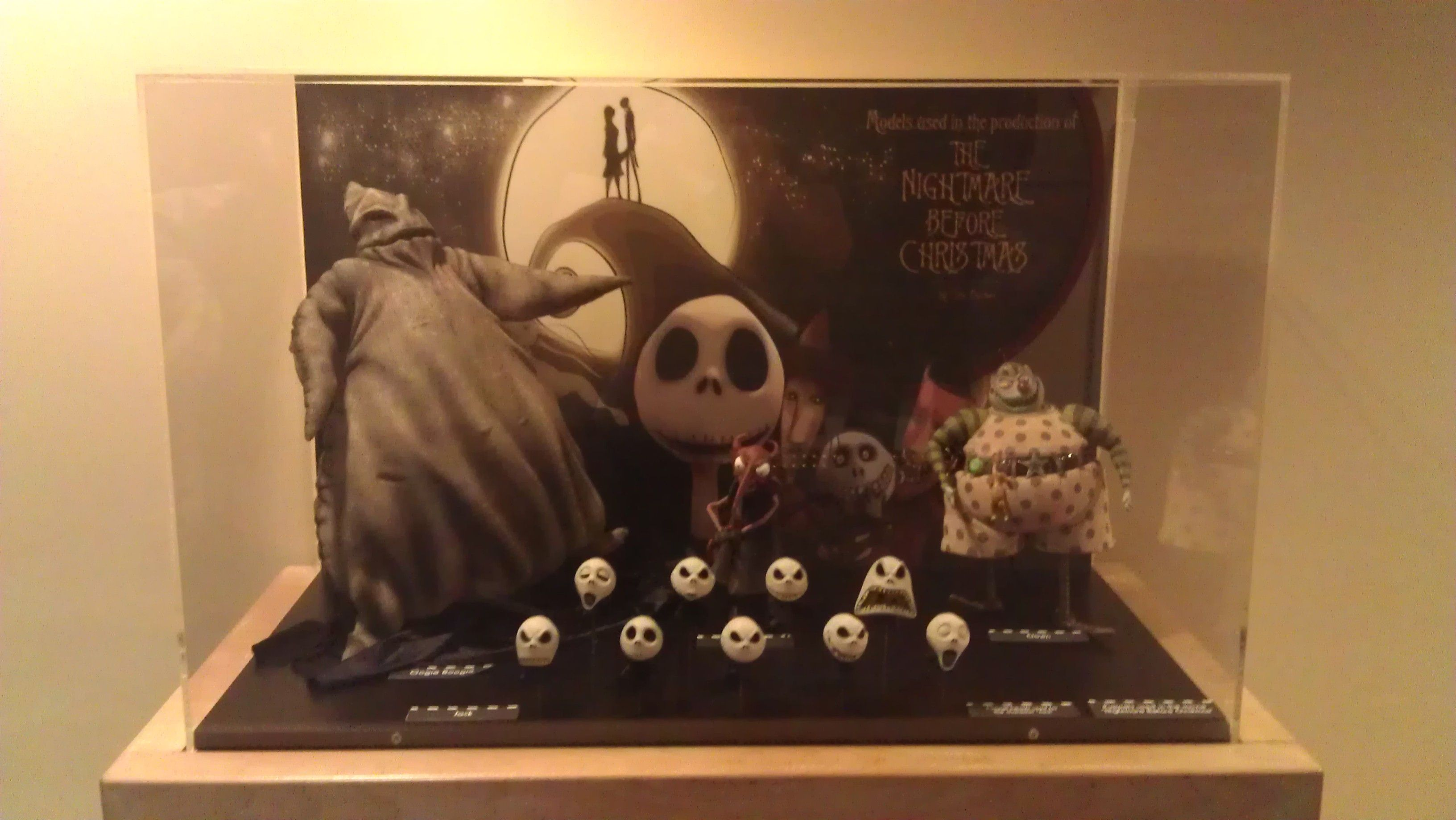 Real Props used in the making of The Nightmare Before Christmas ...