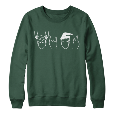3bf096a68 Twins Holiday Crewneck (Green) | I'll pay half in 2019 | Dolan twins ...