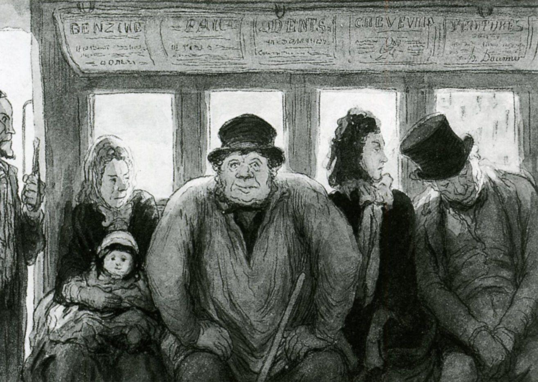 Dentro De Un Bus Lapiz Y Acuarela Interior De Un Tren Lento Lapiz Lithografie Karikatuur Schetsboek