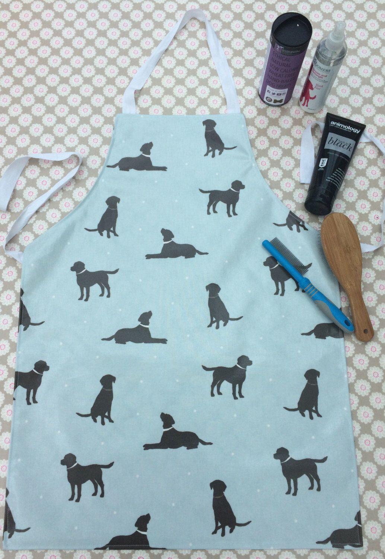 Labrador Apron Dog Groomer Apron Wipe Clean Kitchen