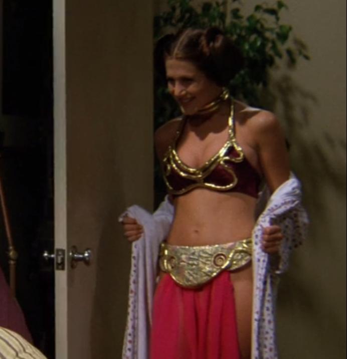 Jennifer Aniston Princess Leia
