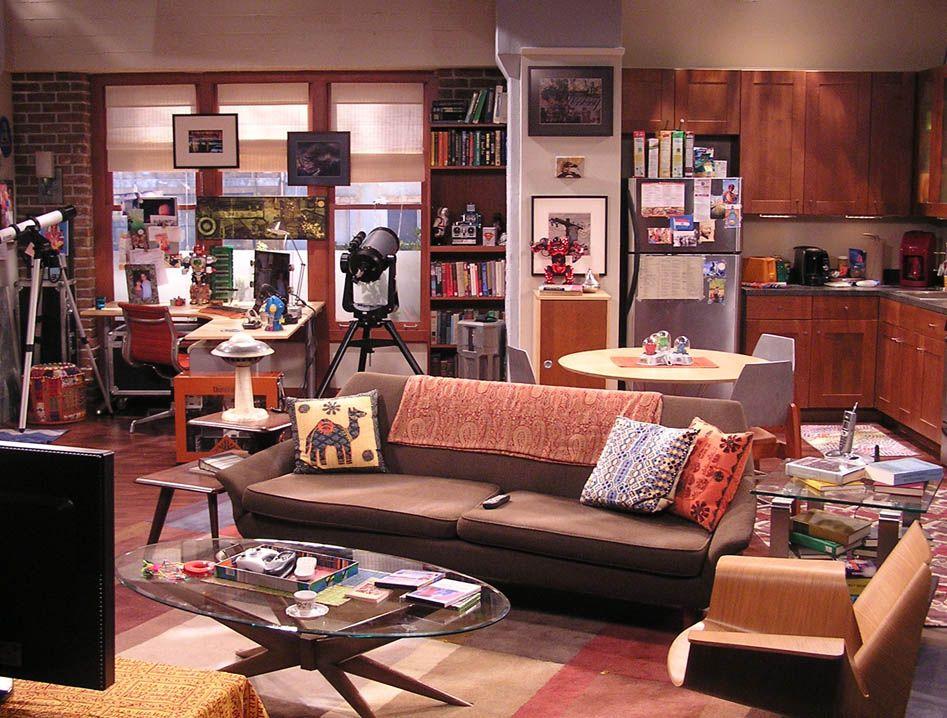 Rajeshu0027s Apartment The Big Bang Theory