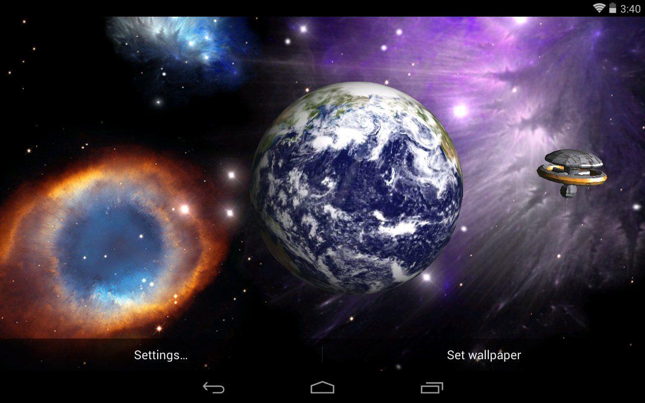 Space World Live Wallpaper Pro 10 APK Download