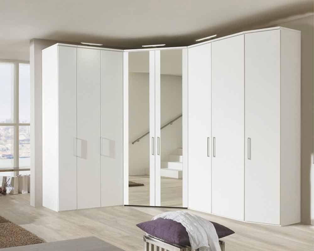 Mirrored Wardrobe Bedroom Wardrobes Single Wardrobe 3 Door