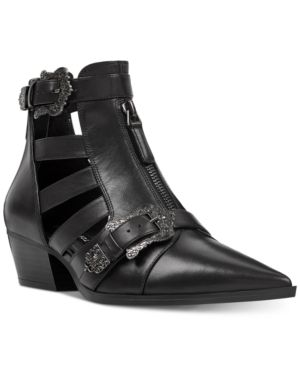 8d935a3e3 Nine West Carrillo Cutout Buckle Booties - Black 8.5M | Products ...