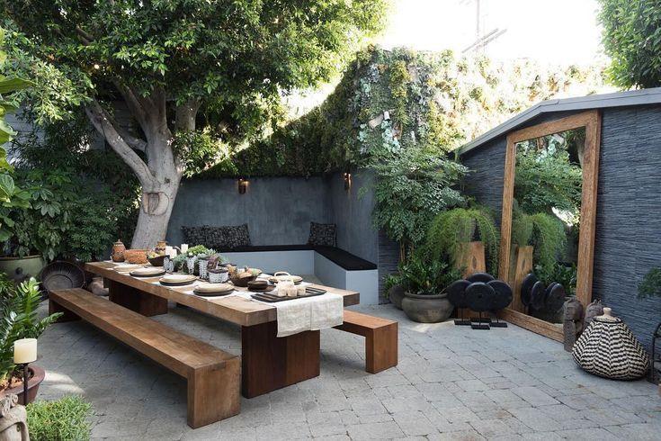 Erdiger Touch mit diesem Sitzdekor im Freien! Dieser Raum wird eine bessere geben #exteriordecor