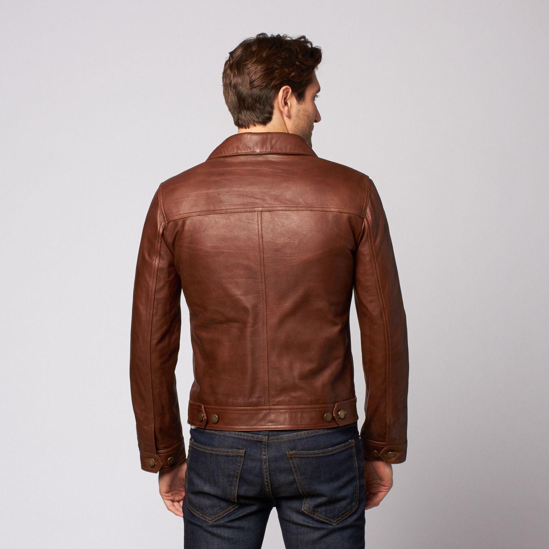 Montgomery Leather Jacket Back In 2020 Leather Jacket Jackets Edward Styles [ 1500 x 1500 Pixel ]