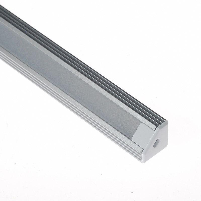 Corner mount aluminum extrusion profile led strip
