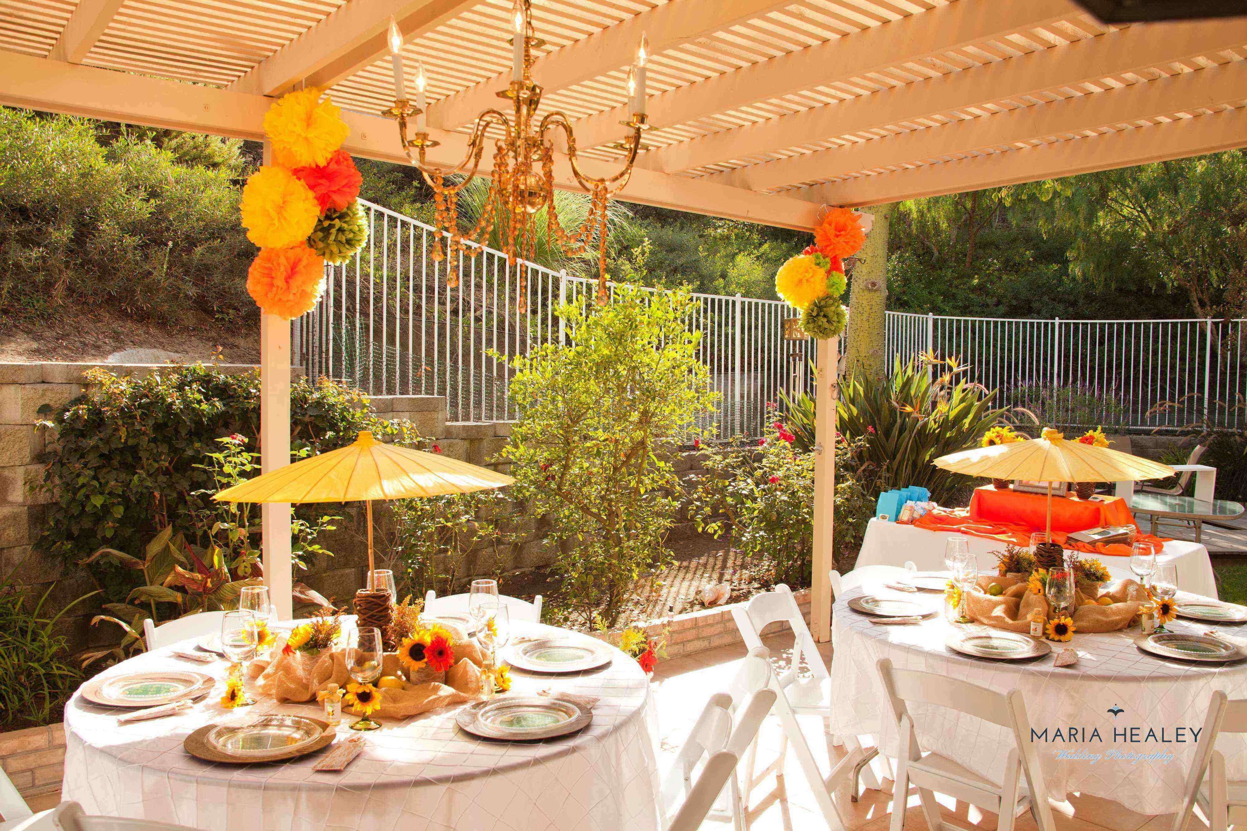 Under The Tuscan Sun Inspired Party Designed By Kylie At
