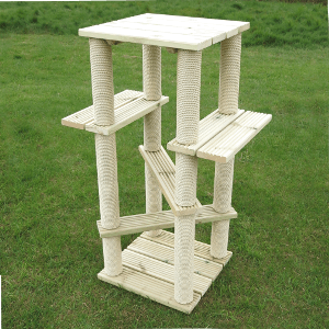 Tall Outdoor Gym Solid Timber Cat Scratcher Lots Of Height Kalven Cat Scratcher Outdoor Cat Tree Cat Playground Outdoor