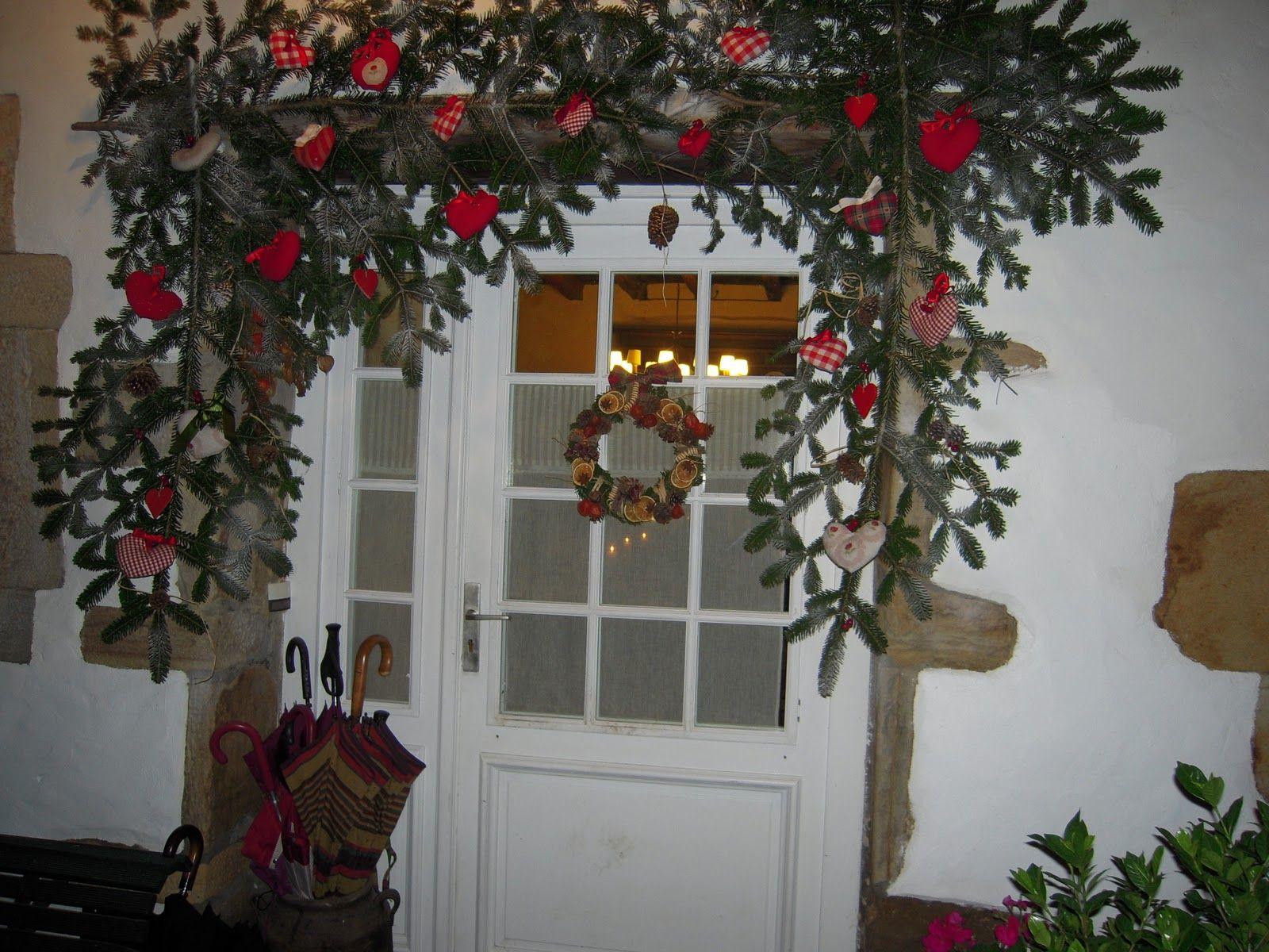 adornos de navidad para la puerta buscar con google