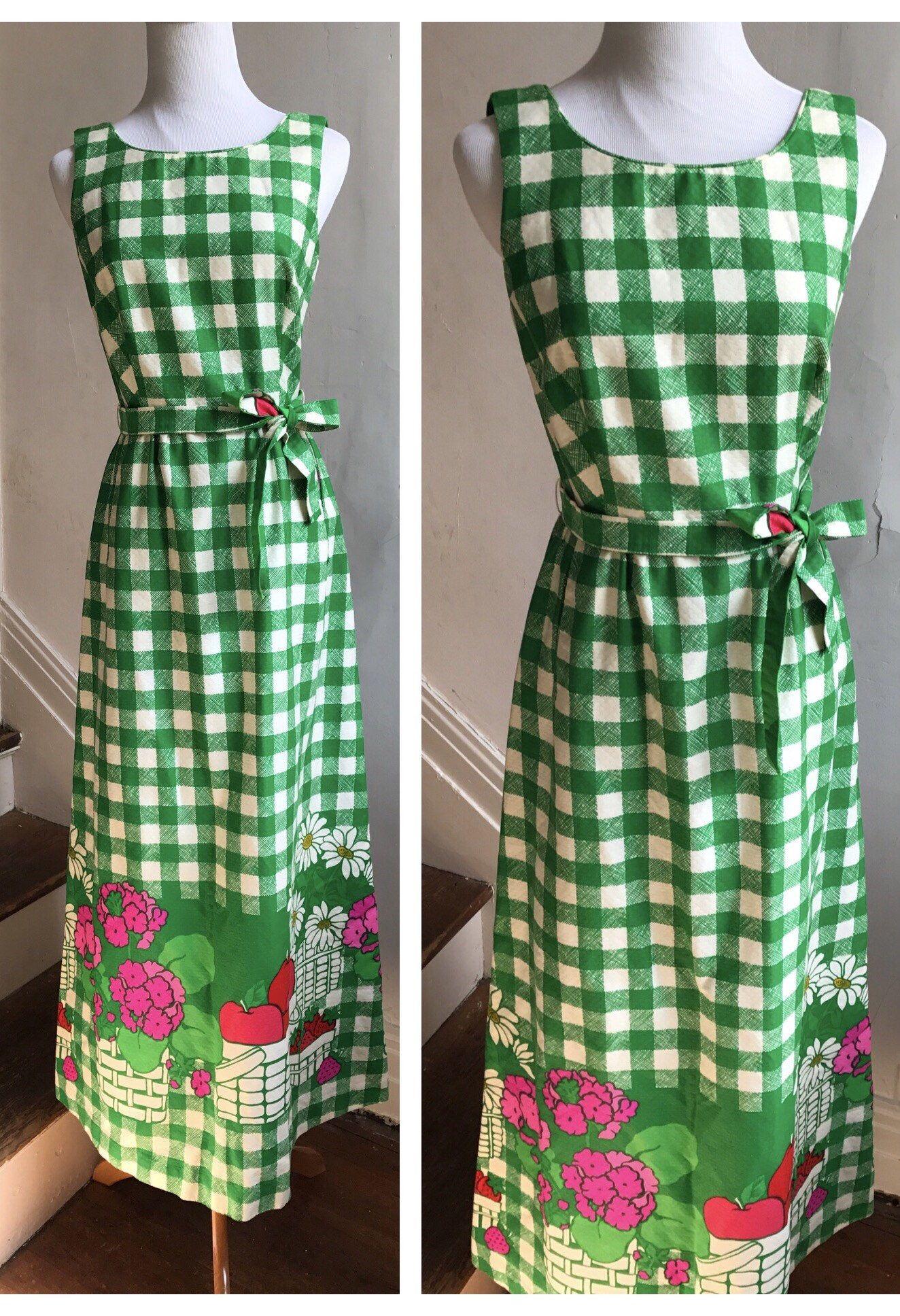 Vintage Green Picnic Plaid Dress Boho Wedding Guest Dress Etsy In 2021 Wedding Guest Dress Boho Wedding Guest Dress Boho Wedding Guest [ 1936 x 1324 Pixel ]