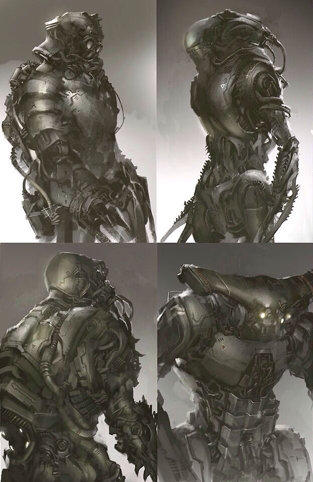 Nice Stuff Sci Fi Costume Mecha Character Concept