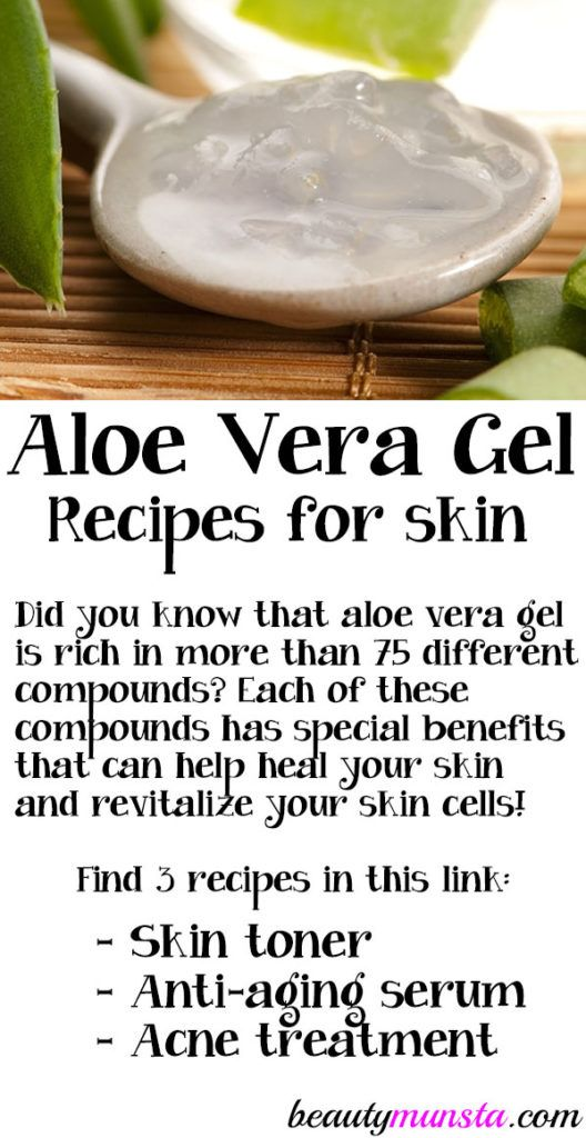3 Diy Aloe Vera Gel Recipes For Skin Beautymunsta Free Natural Beauty Hacks And More Homemade Organic Skin Care Diy Aloe Vera Gel Aloe Vera Gel