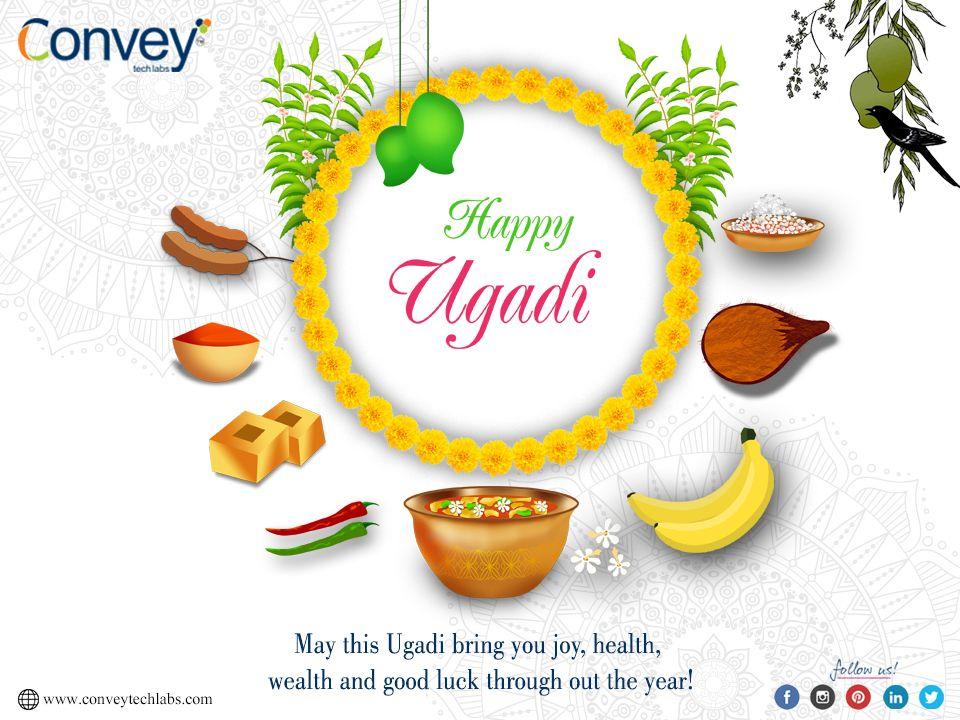 May this Ugadi bring you joy, health, wealth and good luck