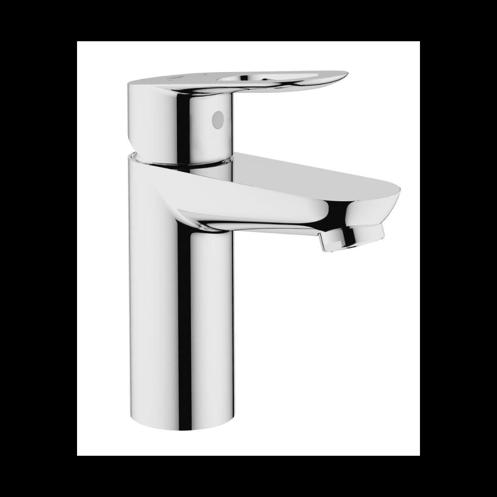 Grohe 23085000 Bauloop Single Hole Bathroom Build Com In 2021 Single Handle Bathroom Faucet Basin Mixer Taps Basin Mixer [ 1000 x 1000 Pixel ]
