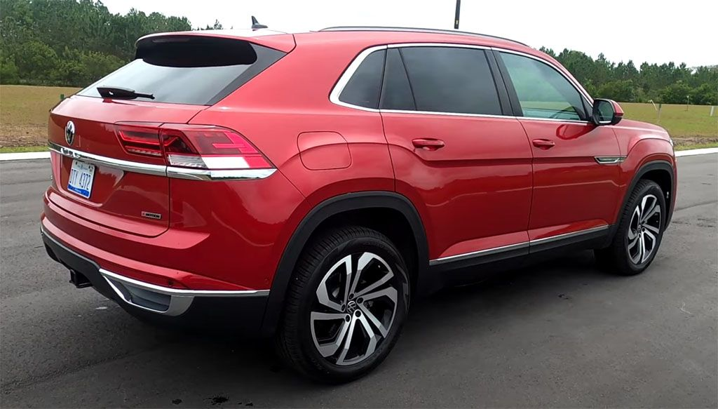 Video Review 2020 Volkswagen Atlas Cross Sport SEL V6