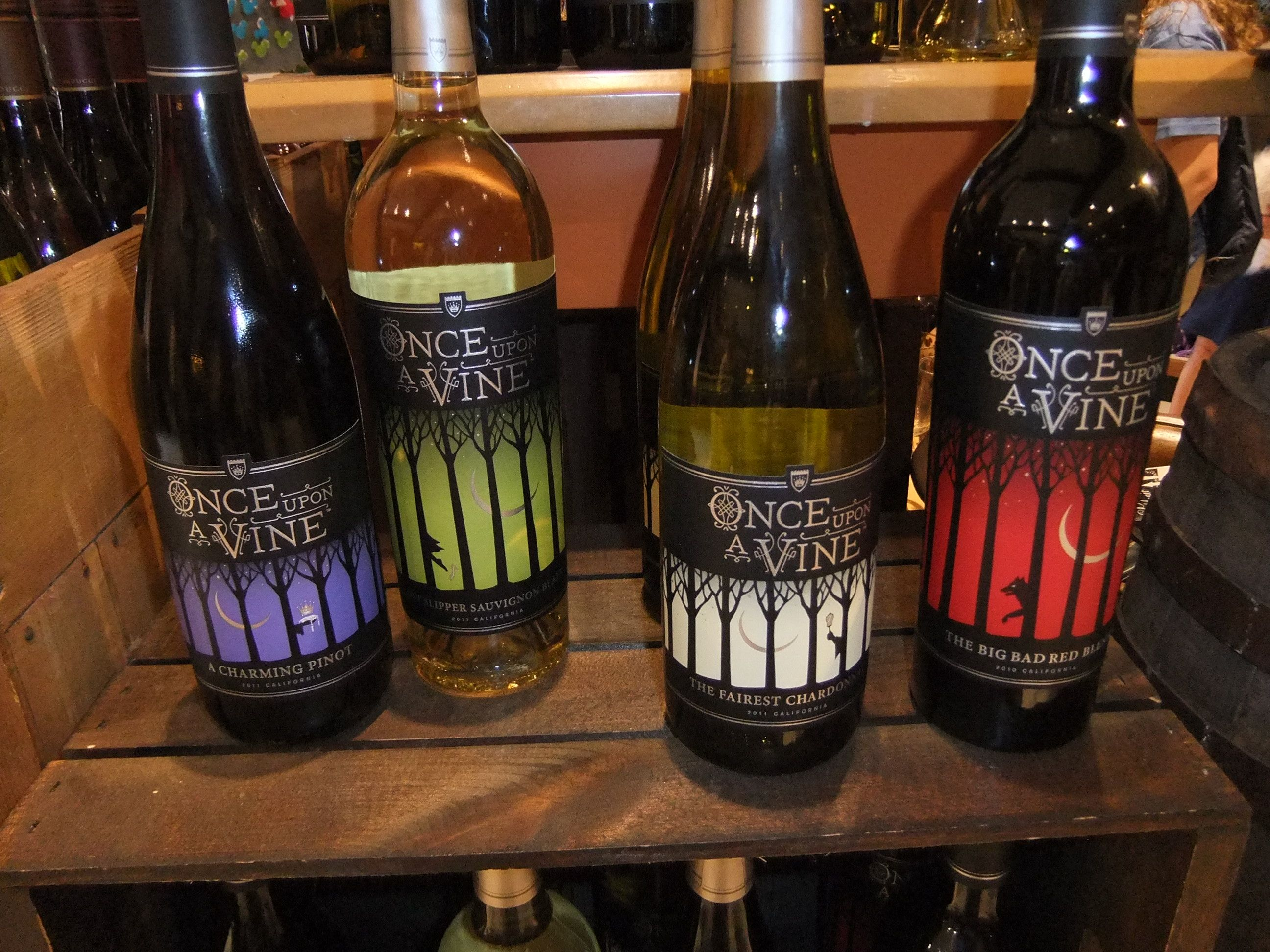 Once Upon a Vine Wine - Fairy Tale Wines
