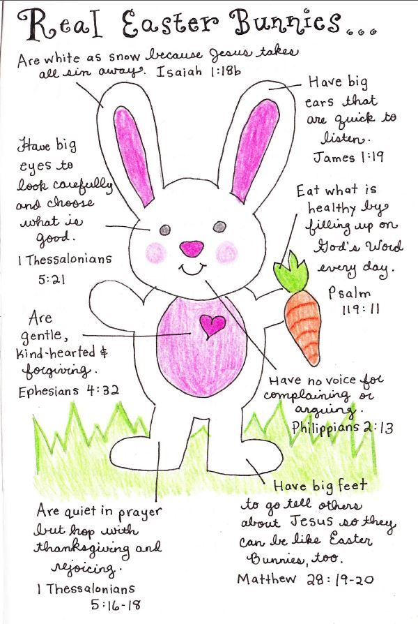 12 ways to have a christ centered easter easter ideas pinterest el verdadero conejo de pascua fandeluxe Images
