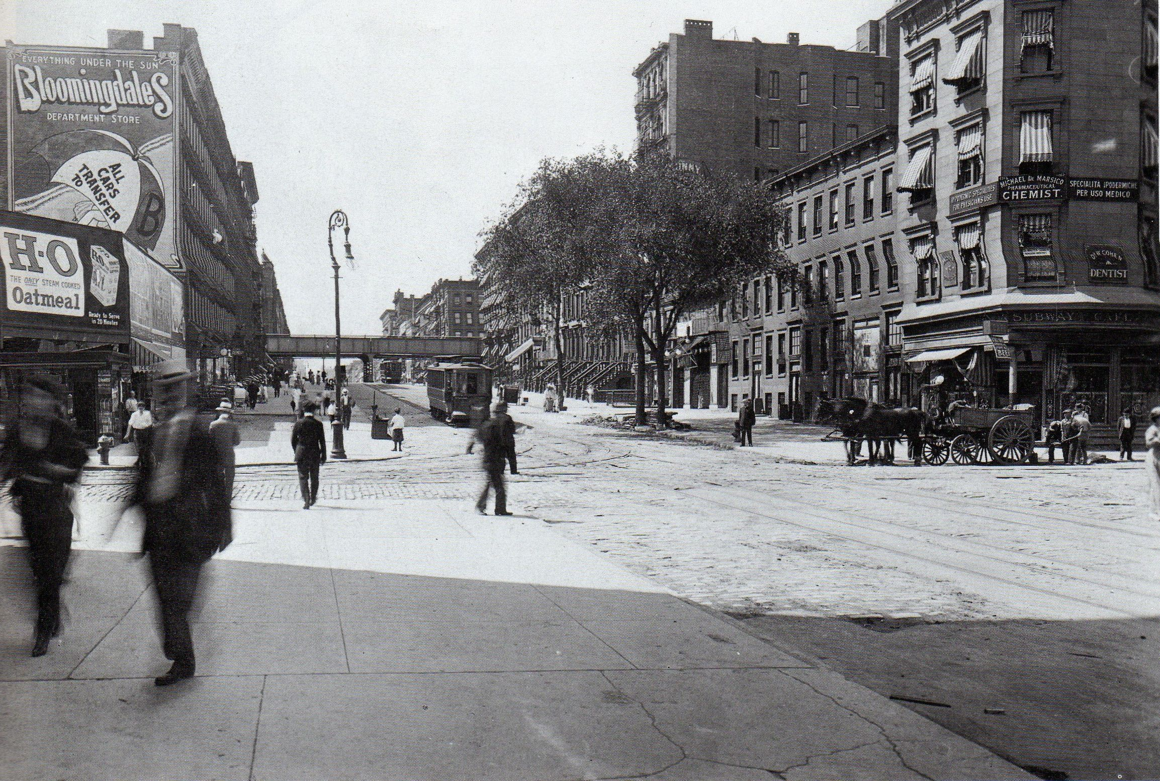 Lexington Ave And 116th St 1915 New York Pictures New York