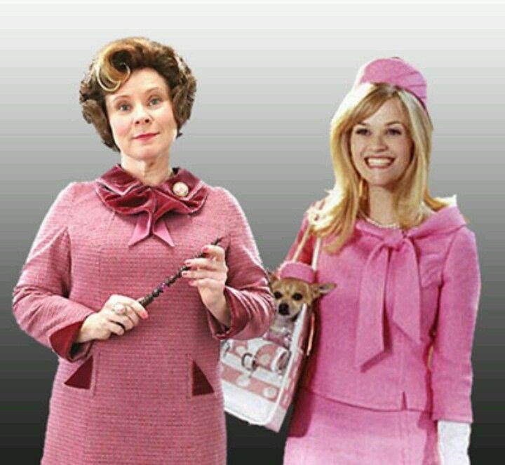Elle Woods Is Professor Umbridge Barbie Pink Ladies Teacher Costumes Lady