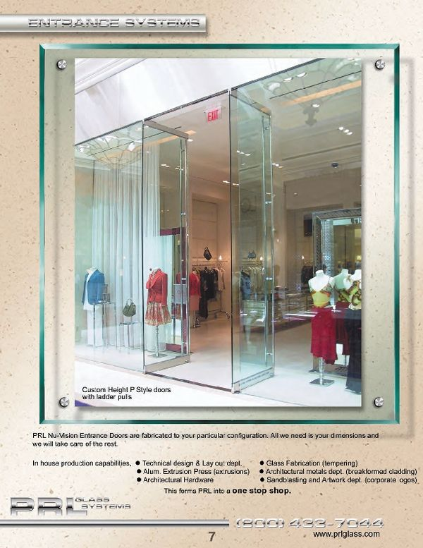 Delicieux Complete All Glass Entrance Door Systems With All Necessary Hardware, Ready  For Installation