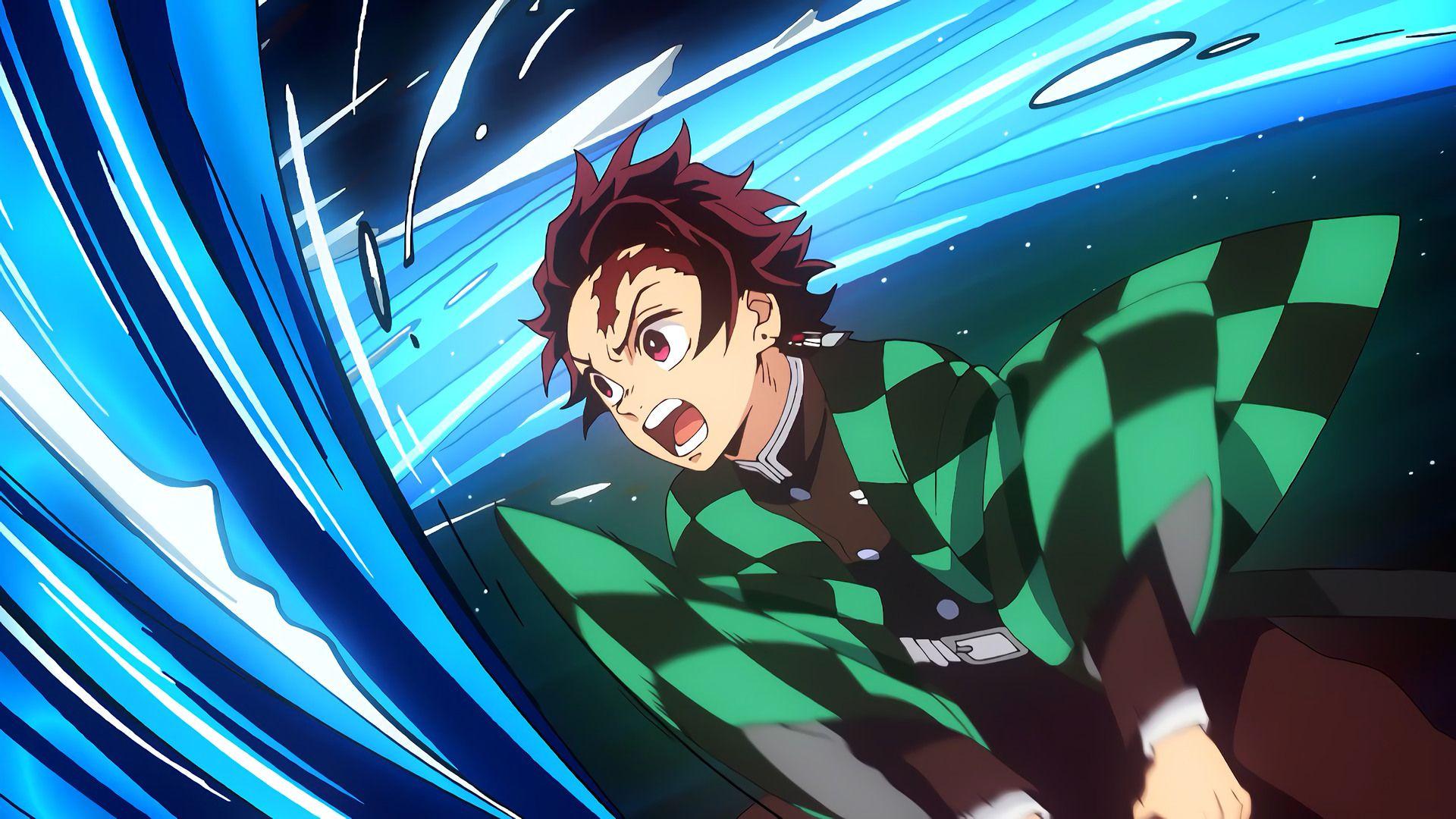 Tanjiro Kamado from Anime Series Kimetsu no Yaiba HD