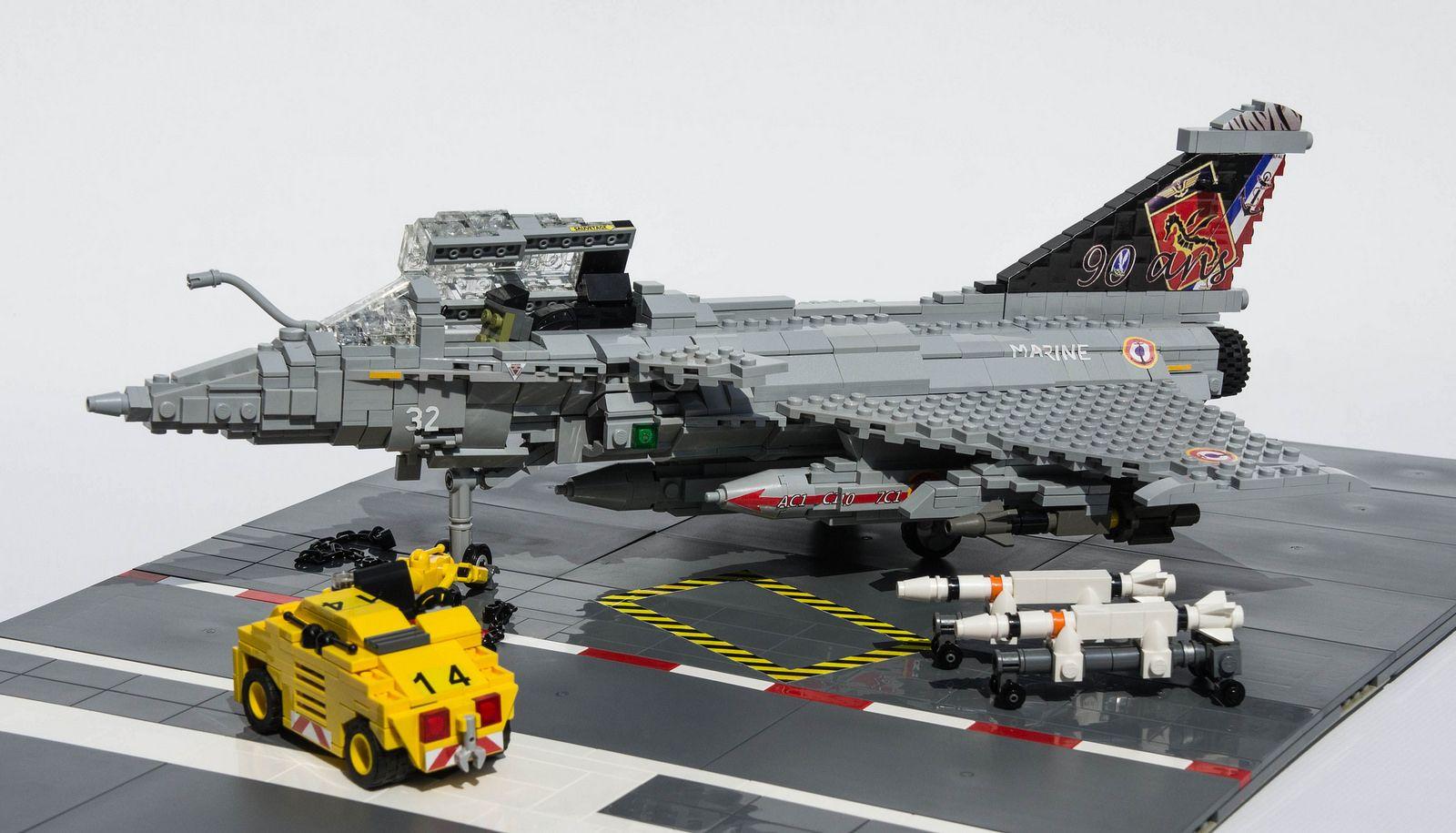 Dassault Rafale-M - 1 | Lego Aviation