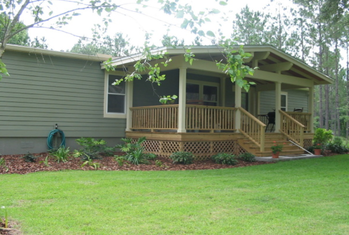 Landscaping Ideas For Mobile Homes Google Search Manufactured