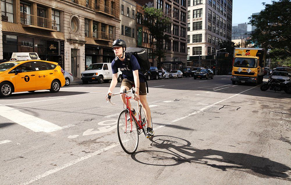 Your New Life As An Uberrush Courier Bike Courier New Life Courier