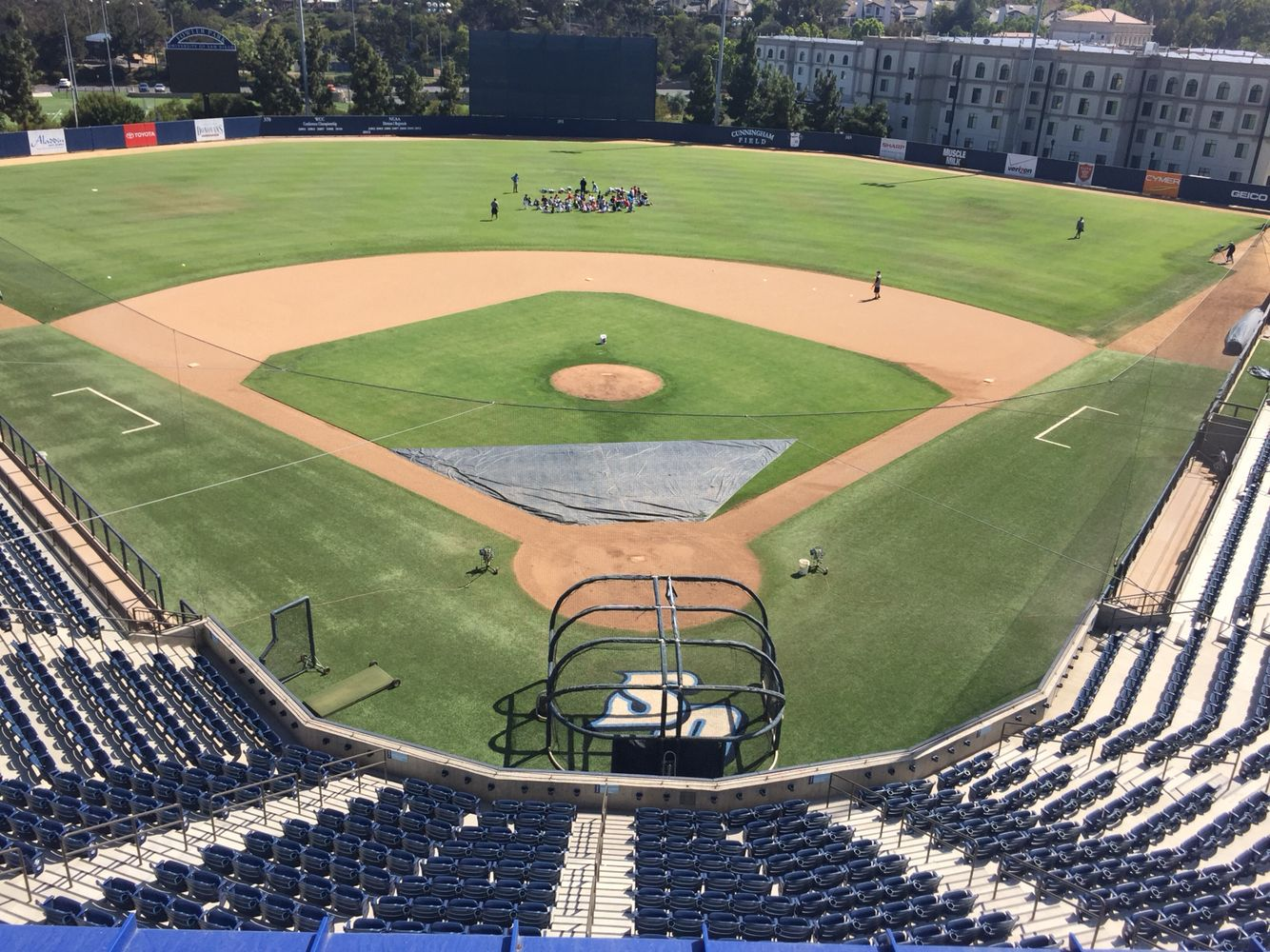 Fowler Park Usd San Diego Sports Stadium Baseball Field College Baseball