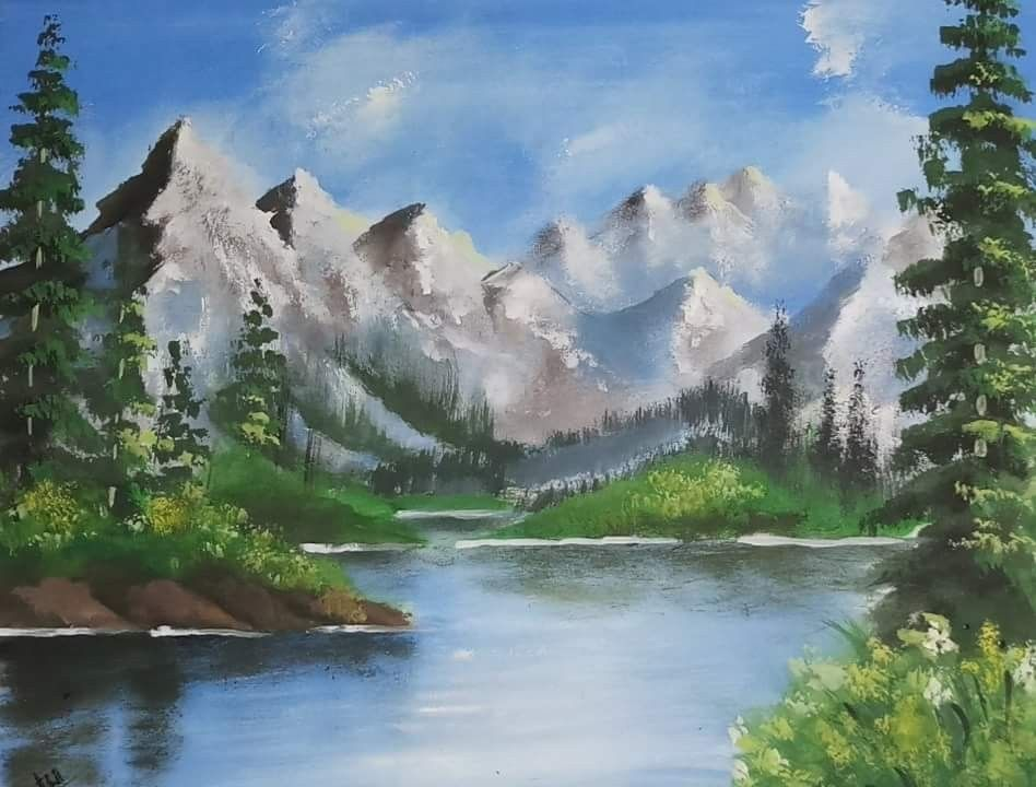 Poster Colour Painting Poster Color Painting Poster Colour Landscape Paintings