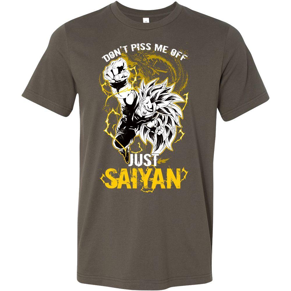 Super Saiyan Goku Dragon Fist Men Short Sleeve T Shirt - TL00036SS