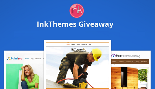 Win 3 Premium WordPress Themes By InkThemes [Giveaway]