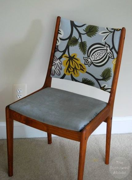 Trash To Treasure Danish Modern Dining Chair Refurbish Danish